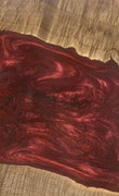 Akron - iPhone 8 Wood+Resin Case - Akron (Dark Red, 112203)