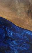 Albuquerque - iPhone 8 Wood+Resin Case - Albuquerque (Dark Blue, 112511)