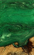 Alene - iPhone Xs Max Wood+Resin Case - Alene (Dark Green, 070278)