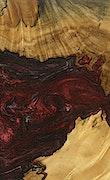 Amargo - Pixel 3a Wood+Resin Case - Amargo (Dark Red, 079415)