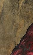 Ammamaria - iPhone Xs Max Wood+Resin Case - Ammamaria (Dark Red, 067838)