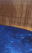 Andriette - Huawei Mate 20 Wood+Resin Case - Andriette (Dark Blue, 110204)