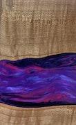 Babara - iPhone 8 Wood+Resin Case - Babara (Purple, 114231)