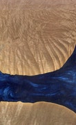 Barbabra - iPhone 11 Pro Max Wood+Resin Case - Barbabra (Dark Blue, 112103)