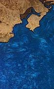 Bobbee - Pixel 3a Wood+Resin Case - Bobbee (Dark Blue, 075301)