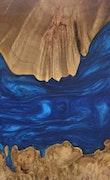 Carlis - Pixel 3a XL Wood+Resin Case - Carlis (Dark Blue, 103402)