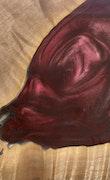 Carree - iPhone 8 Wood+Resin Case - Carree (Dark Red, 112915)