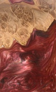 Chandler - iPhone 11 Pro Max Wood+Resin Case - Chandler (Dark Red, 114848)