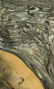 Charmane - iPhone 7 Plus Wood+Resin Case - Charmane (Black & White, 077812)