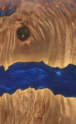 Columbus - Pixel 3a XL Wood+Resin Case - Columbus (Dark Blue, 103413)