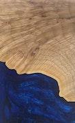 Consuela - iPhone 8 Wood+Resin Case - Consuela (Dark Blue, 112380)
