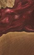Cynthie - Pixel 3a XL Wood+Resin Case - Cynthie (Dark Red, 096711)