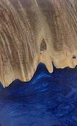 Delora - iPhone 11 Pro Max Wood+Resin Case - Delora (Dark Blue, 110942)
