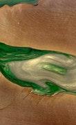 Domenick - iPhone 8 Wood+Resin Case - Domenick (Dark Green, 114735)