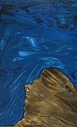Dorian - iPhone 7 Plus Wood+Resin Case - Dorian (Dark Blue, 075951)