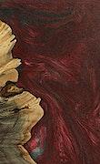 Duc - iPhone Xs Max Wood+Resin Case - Duc (Dark Red, 070759)