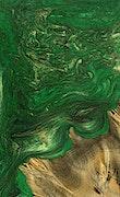 Eddy - Pixel 3a Wood+Resin Case - Eddy (Dark Green, 077013)