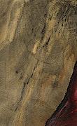 Fairfield - iPhone Xs Max Wood+Resin Case - Fairfield (Dark Red, 067850)