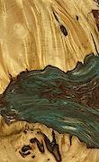Germana - Pixel 3a Wood+Resin Case - Germana (Teal & Gold, 079368)
