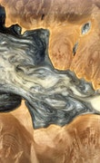 Glyn - iPhone X Wood+Resin Case - Glyn (Black & White, 118174)