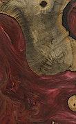 Grason - iPhone Xs Max Wood+Resin Case - Grason (Dark Red, 068708)