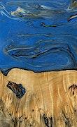 Hengameh - iPhone Xs Max Wood+Resin Case - Hengameh (Dark Blue, 067938)