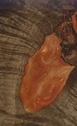 Iolanthe - iPhone 11 Pro Max Wood+Resin Case - Iolanthe (Dark Red, 110232)