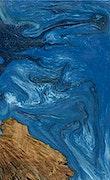 Ireland - iPhone Xs Max Wood+Resin Case - Ireland (Light Blue, 093085)
