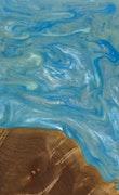 Jillayne - iPhone 11 Pro Max Wood+Resin Case - Jillayne (Light Blue, 108924)