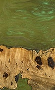 Karel - iPhone Xs Max Wood+Resin Case - Karel (Dark Green, 059060)