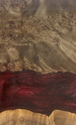 Lavena - iPhone 11 Pro Max Wood+Resin Case - Lavena (Dark Red, 110478)