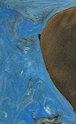 Livvy - iPhone 7 Plus Wood+Resin Case - Livvy (Light Blue, 072511)