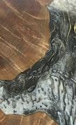 Lyndy - Galaxy S9 Wood+Resin Case - Lyndy (Black & White, 117873)