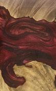 Madison - Galaxy S9 Wood+Resin Case - Madison (Dark Red, 117196)