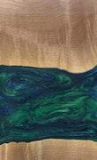 Majid - iPhone 8 Plus Wood+Resin Case - Majid (Dark Green, 113761)