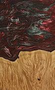 Malvina - Pixel 3a Wood+Resin Case - Malvina (Dark Red, 075717)