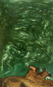 Maure - Pixel 3a XL Wood+Resin Case - Maure (Dark Green, 092462)