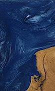 Miramar - Pixel 3a Wood+Resin Case - Miramar (Dark Blue, 073789)