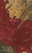 Mireille - iPhone Xs Max Wood+Resin Case - Mireille (Dark Red, 086261)