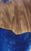 Nashville - iPhone X Wood+Resin Case - Nashville (Dark Blue, 114985)