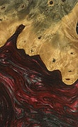Osmond - Pixel 3a Wood+Resin Case - Osmond (Dark Red, 078554)