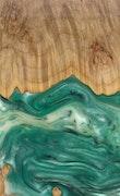 Pepita - iPhone 11 Pro Max Wood+Resin Case - Pepita (Dark Green, 113802)