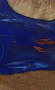 Pierette - iPhone 7 Plus Wood+Resin Case - Pierette (Blue & Red, 072344)