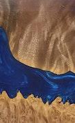 Provo - Pixel 3a XL Wood+Resin Case - Provo (Dark Blue, 103429)
