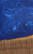 Rani - iPhone 8 Wood+Resin Case - Rani (Dark Blue, 110200)