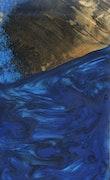 Serena - iPhone 11 Pro Max Wood+Resin Case - Serena (Dark Blue, 110913)