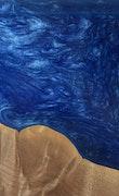 Silvestro - iPhone 11 Pro Max Wood+Resin Case - Silvestro (Dark Blue, 114496)