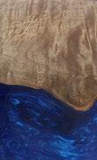 Thornton - Galaxy S9 Wood+Resin Case - Thornton (Dark Blue, 115494)