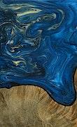 Torrance - Pixel 3a Wood+Resin Case - Torrance (Light Blue, 079426)