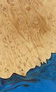 Vallipuram - iPhone 7 Plus Wood+Resin Case - Vallipuram (Blue & Red, 078998)